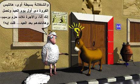 Gamal sheep