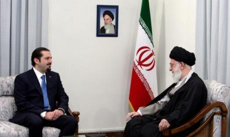 Hariri and Khamenei