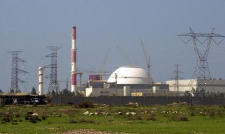 Iran Bushehr reactor