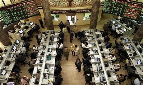 the Egyptian stock Exchange fell down today