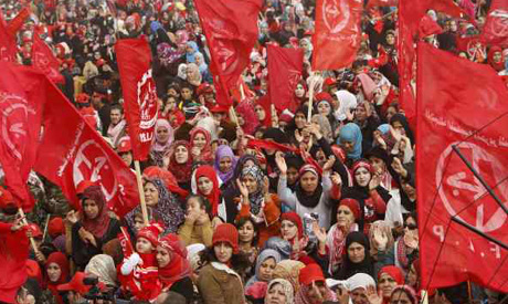 PFLP Rally