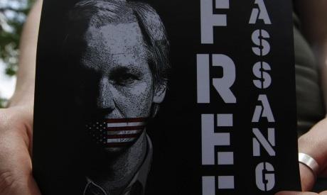 Assange Photo: Reuters