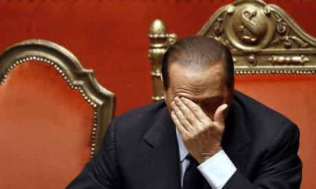 Berlusconi in Senate
