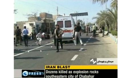 Iran blasts