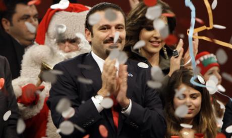 Hariri celebrates
