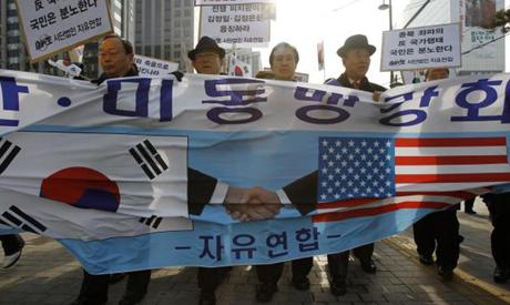 Pro-US South Korea