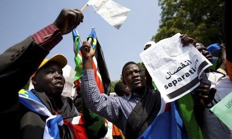 South Sudan separation