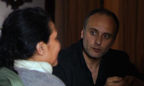 Ibrahim El Batout in his film Hawi