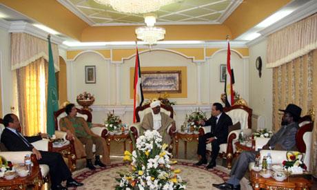 Moubarak at Sudan