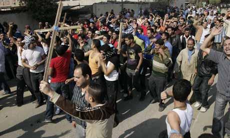Omraneya demonstrations