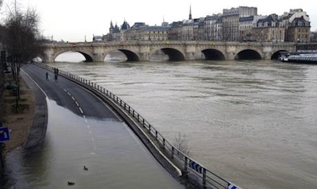 Paris cold