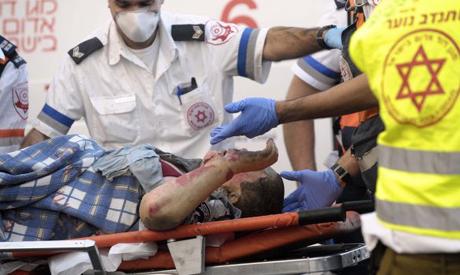Israeli paramedics