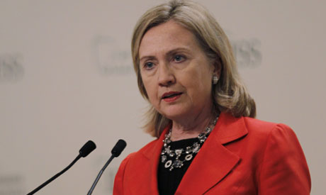 Clinton in Bahrain