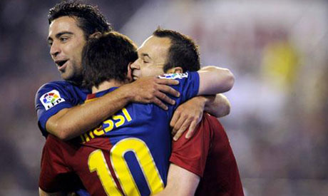 Messi Xavi And Iniesta Shortlisted For Final Fifa Ballon D Or Award World Sports Ahram Online