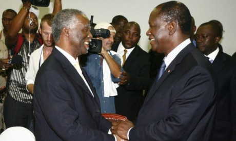 Mbeki and Outtara