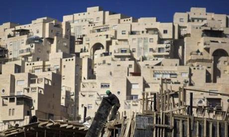 West Bank settlements AP