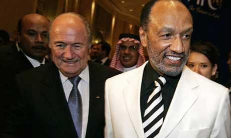 Mohammed Bin Hammam & Blatter