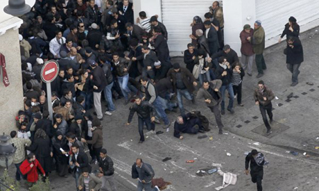 Tunis 14 January 2011. (AP)