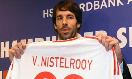 newest collection deb6d 79ada Hamburg block Real's van Nistelrooy bid - World - Sports ...