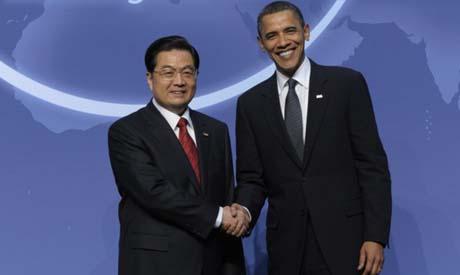Hu Jintao, Barack Obama