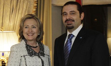 Hariri and Clinton