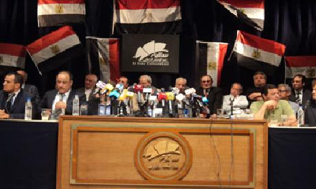 politcal figures meeting on Monday failed to issue a joint statment