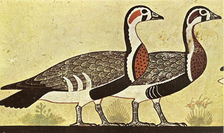 geese relief of Itet tomb in Meidum