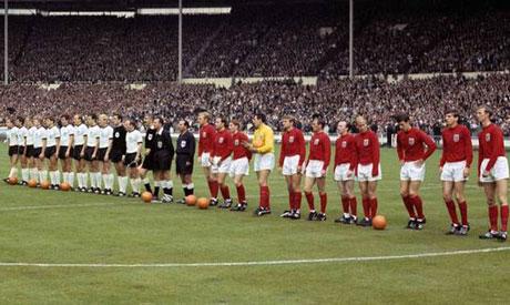 England V West Germany