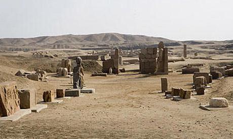 Tanis site in Delta