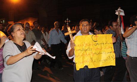 Coptic Protest
