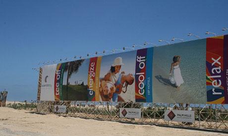 Palm Hills hoarding