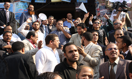 Lawyers protest at Lawyers