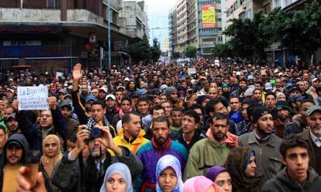 Morocco's protest movement battles on margins of Arab Spring - Region ... Egyptian Art
