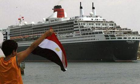 Suez boat