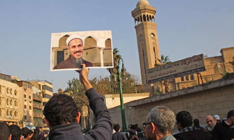 Funeral for cleric Emad Effat (Photo: Mai Shaheen)