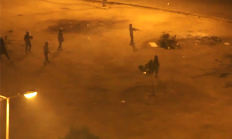 Army clears Tahrir on 19 December (Mosireen media collective)