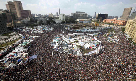 """Egypt revolution live updates: minute by minute account of """"Defiance Friday"""""""