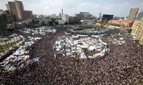 Tahrir crowds