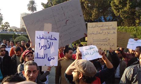 13 February demonstrations