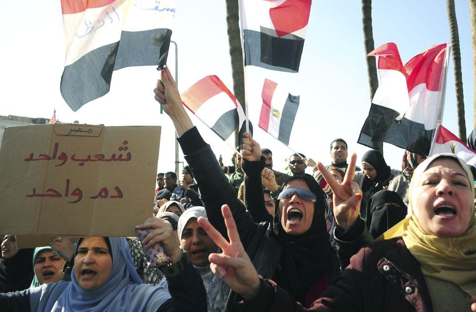 Egypt+revolution+2011+