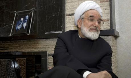 Mehdi Karroubi. (Reuters)