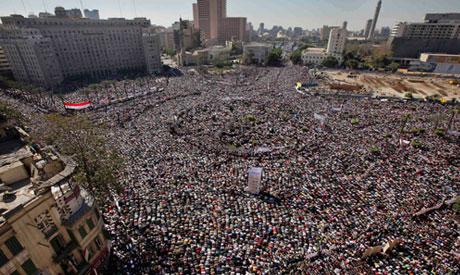Tahrir Square.