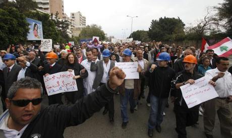 Beirut 10 April 2011. (Reuters)