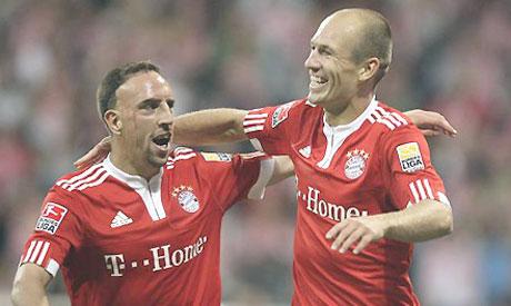 Franck Ribery and Arjen Robben