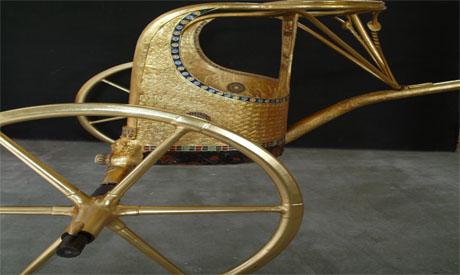 the chariot of Tutankhamun