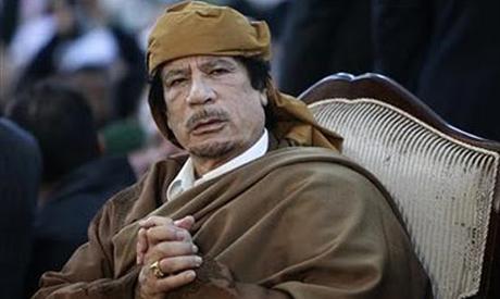 Muammar Gaddafi. (Reuters)
