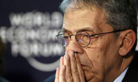 Arab League chief Amr Moussa Reuters