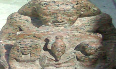 the priest statue
