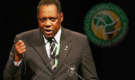CAF president Eissa Hayatou
