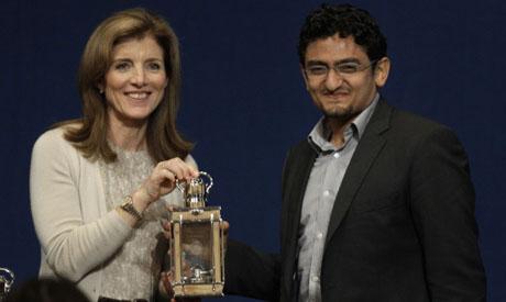 Caroline Kennedy, Wael Ghonim